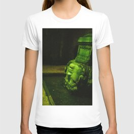 My head in thought. T-shirt