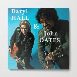 hall oates blue tour 2020 ngamein Metal Print
