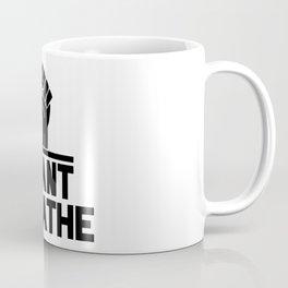 black lives matter 'i cant breathe' blm protest power fist Coffee Mug