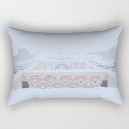 Soviet Modernism: The Yerevan Cascade Rectangular Pillow