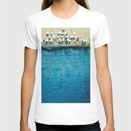 Aerial: On The Beach T-shirt