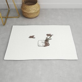Pocket Sloth Family Rug