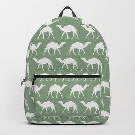 camels - avocado green Backpack