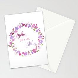 """Lydia, you go with Stiles"" - Stydia 3x11 Stationery Cards"