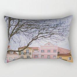 Travel To Lisbon II Rectangular Pillow