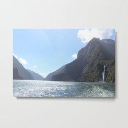 Milford Sound - Fiordland - New Zealand Metal Print