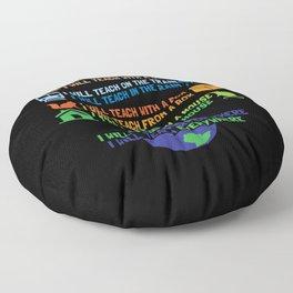 Teacher Teaching Coach Gift Floor Pillow