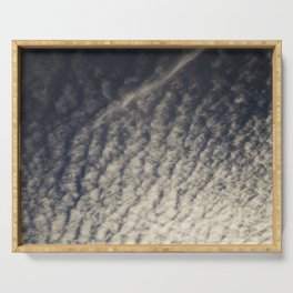 Cirrocumulus Clouds 9 Serving Tray