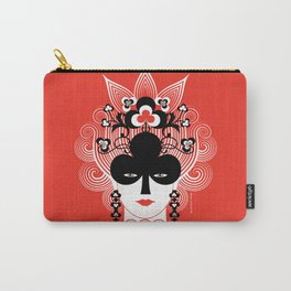 The Queen of clubs Carry-All Pouch