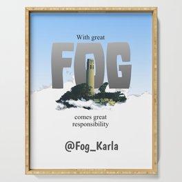 Karla the Fog Serving Tray