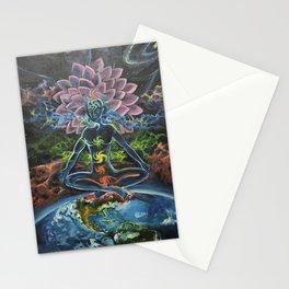 7 Chakras Stationery Cards