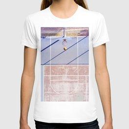 basketball court 3 T-shirt