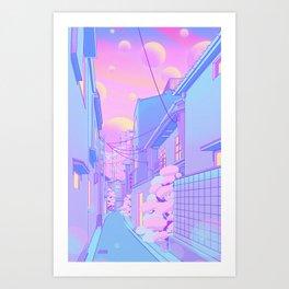 Osaka Morning Kunstdrucke