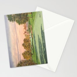 Winged Foot West Golf Course NY Stationery Cards