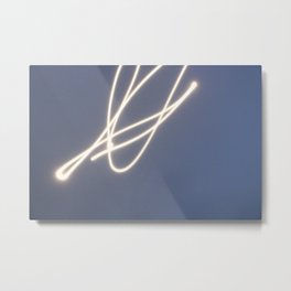 Kreative Fotografie 6 Mond Licht auf Kreative Art Metal Print