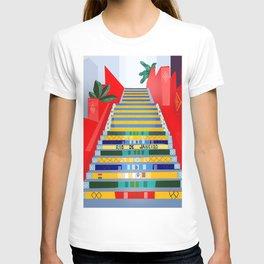 Rio de Janeiro, Selaron stairs T-shirt