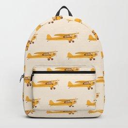 Little Yellow Plane Backpack