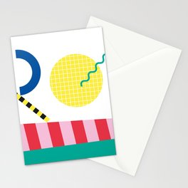 Memphis Series 04 Stationery Cards