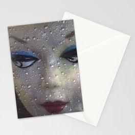 Rainy Day Barbie Stationery Cards