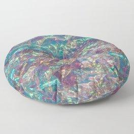 Prismatic Ocean of Light III Floor Pillow