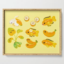 Banana cichlid Serving Tray