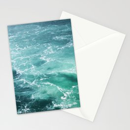 Sea Waves | Seascape Photography | Water | Ocean | Beach | Aerial Photography Stationery Cards