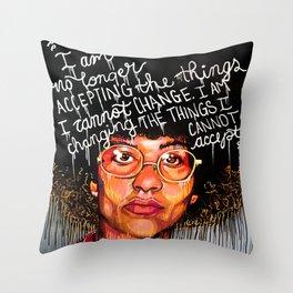 I Am No Longer Throw Pillow