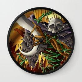 Pumking- Terrarias- digital version Wall Clock
