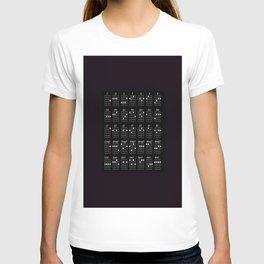 Ukulele chords T-shirt