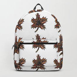 The Fall Leaf Pattern Backpack