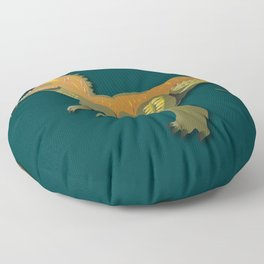 Dinosaur - 'A Fantastic Journey' Floor Pillow
