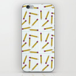 Pencils, Pencils Everywhere! iPhone Skin