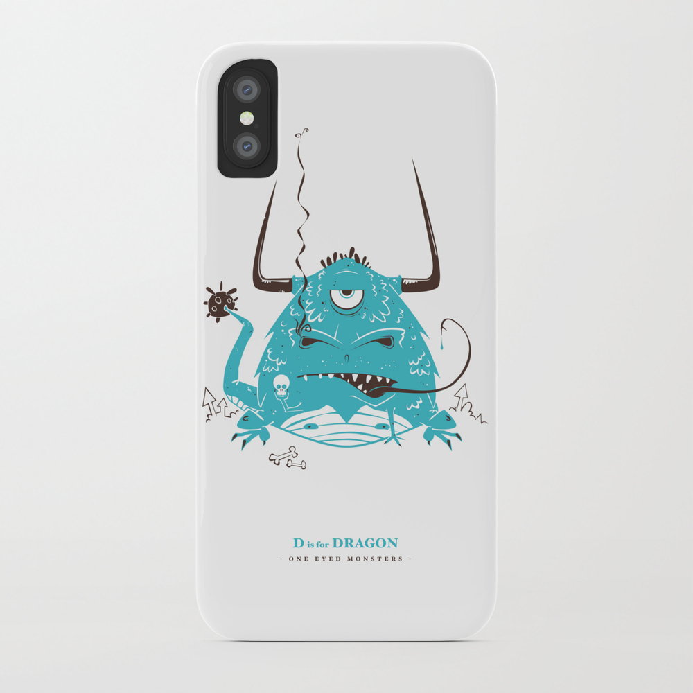 D Is For Dragon Phone Case by Justhooper PCS988449
