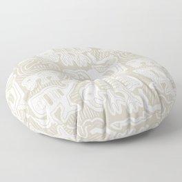 Molas Molas | Island Print | Taupe Floor Pillow