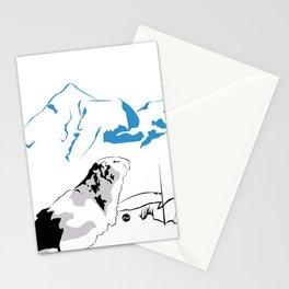 Marmotte des montagnes Stationery Cards