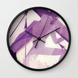 Crucifixion - Aaron Douglas Wall Clock