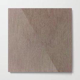 Brown grey tree Metal Print