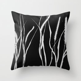Bristle Grass Throw Pillow