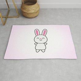 Cute Rabbit / Bunny Rug