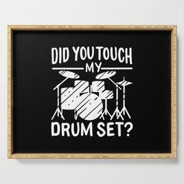 Drummer - My Drum Set Serving Tray