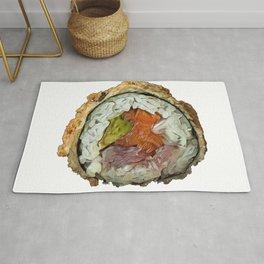 Sushi Maki nori seaweed spicy Wasabi sauce dried Rug