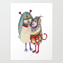I love you Potato Art Print