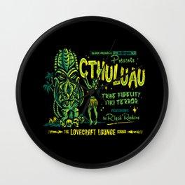 Cthuluau Wall Clock