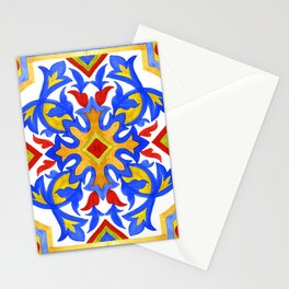 Portuguese azulejo tiles. Gorgeous patterns. Stationery Cards