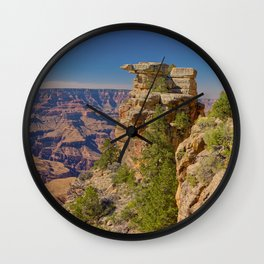 Stone Pillars of Papago Creek Grand Canyon AZ Wall Clock