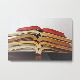 Book Love I Metal Print