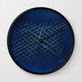 Interlocked Isometrics Wall Clock