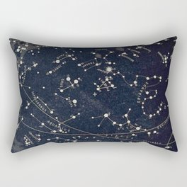 Constellation Chart Rectangular Pillow