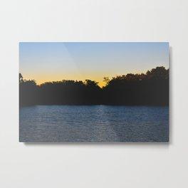 Last Seconds of Daylight Metal Print