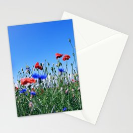 poppy flower no11 Stationery Cards